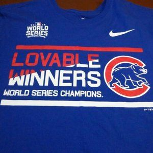 Chicago Cubs Nike 16 World Series Champions Shirt